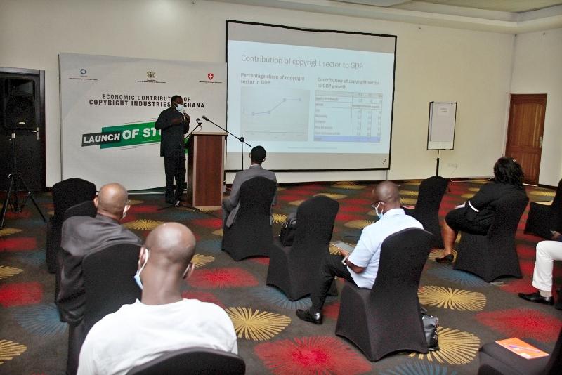 Presentation by Dr. Magnus Ebo Duncan